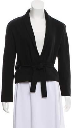 Ungaro Silk Casual Blazer Black Silk Casual Blazer