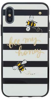 Kate Spade jeweled bee my honey iPhone® X phone case