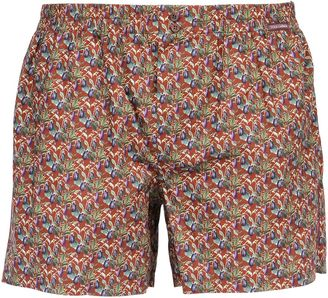 Eggplants Cotton Poplin Boxers $395 thestylecure.com