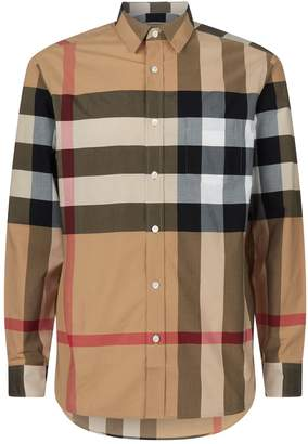 Burberry Check Buttoned Shirt