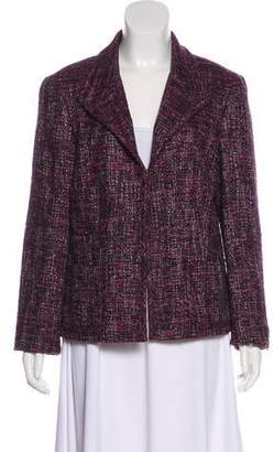 Lafayette 148 Tweed Notch-Lapel Jacket
