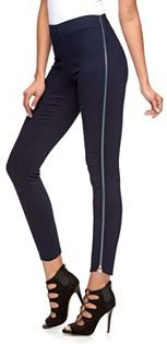 Women's Jennifer Lopez Zipper Jeggings $64 thestylecure.com