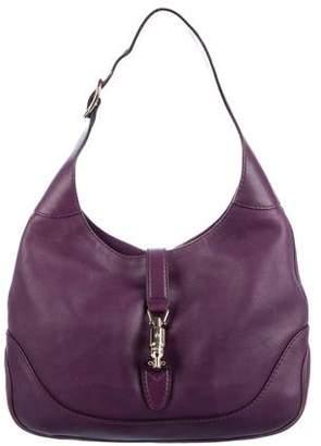 Gucci Leather Jackie Hobo