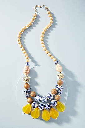 Anthropologie Sundrops Beaded Necklace