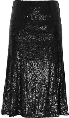 A.L.C. (エーエルシー) - A.L.C. A.l.c. スパンコール付き メッシュ ミディスカート
