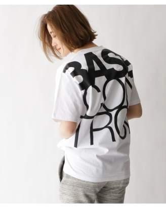 Basecontrol (ベース コントロール) - ベースコントロール [WEB限定]BASECONTROLロゴ バックプリント Tシャツ