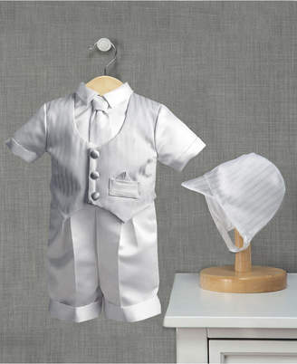 Ralph Lauren Madison Baby Boys 3-Piece Satin Christening Set