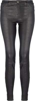 J Brand Skinny Leather Jeans