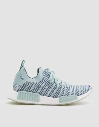 adidas NMD_R1 STLT Primeknit Sneaker in Ash Green