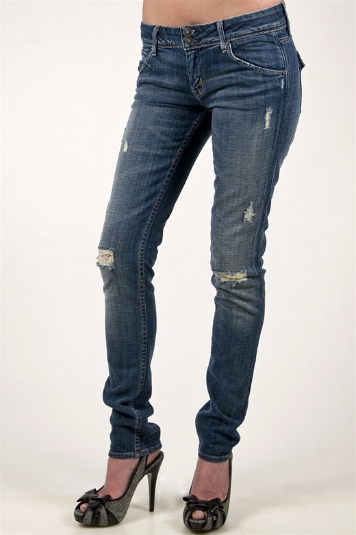 Hudson Jeans Regent Ripped Skinny in Collin