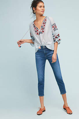 AG Jeans The Stevie Mid-Rise Skinny Ankle Petite Jeans