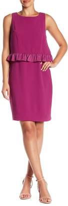 Trina Turk Tieges Ruffle Overlay Dress
