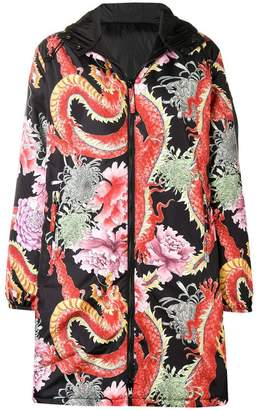 P.A.R.O.S.H. Chinese floral printed coat