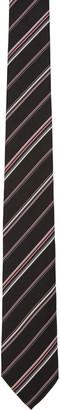 Paul Smith Black Striped Silk Tie $125 thestylecure.com