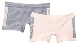 Calvin Klein Seamless Boyshorts - Pack of 2 (Big Girls)