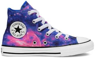 Converse Girls' Chuck Taylor All Star Galaxy Sneakers