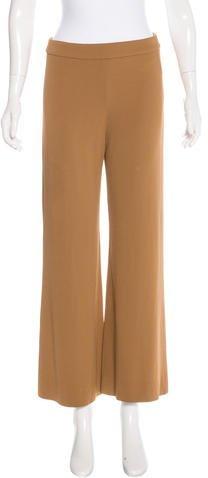 Carolina HerreraCarolina Herrera High-Rise Wide-Leg Pants