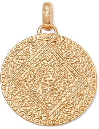 Monica Vinader Mini Marie Gold Vermeil Pendant