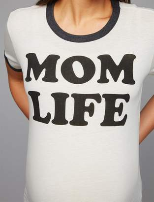 Chaser Mom Life Maternity T Shirt