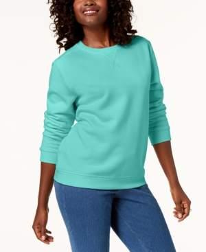 Karen Scott Classic Sweatshirt, Created for Macy's