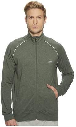 HUGO BOSS Stretch Cotton Zip Jacket Men's Coat
