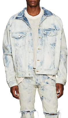 Fear Of God Men's Bleached Denim Jacket - Lt. Blue
