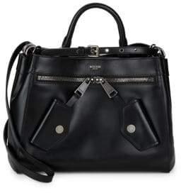 Moschino Classic Leather Satchel
