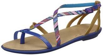 Crocs Women's Isabella Gladiator Flat Sandal