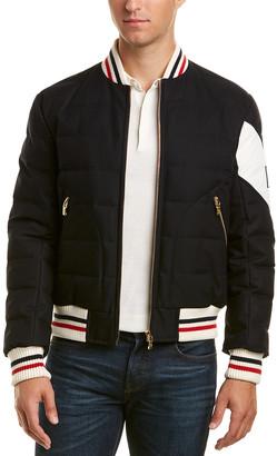 Moncler Gamme Bleu Wool-Blend Jacket