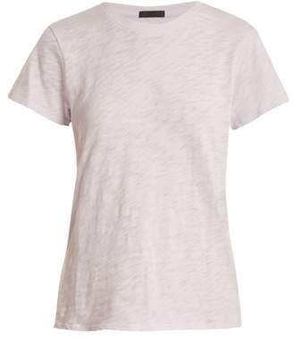Atm - Schoolboy Cotton Slub Jersey T Shirt - Womens - Light Purple