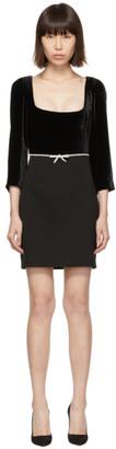 Miu Miu Black Velvet Dress