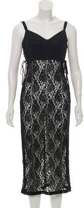 Dolce & Gabbana Lace Bustier Dress