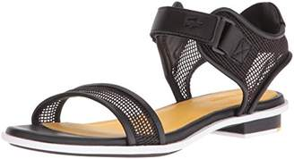 Lacoste Women's LONELLE Low Sandal 216 2 Dress Pump