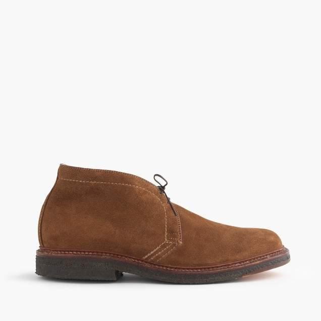 J.Crew Alden® for flex-toe chukkas in suede