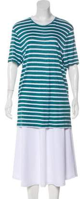Michael Kors Striped Short Sleeve Top w/ Tags