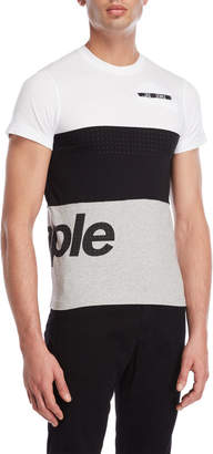 Pigeon Staple Color Block Tape Pocket Tee