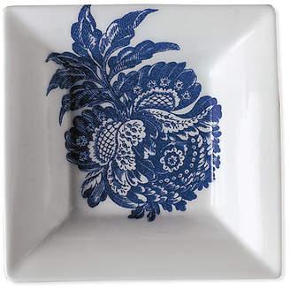 "Caskata 5"" Arcadia Trinket Tray - White/Blue"