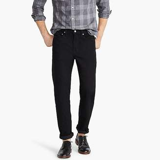 J.Crew 770 Straight-fit stretch jean in deep black