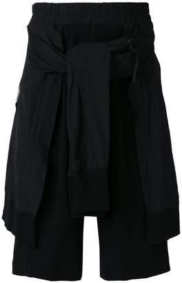 Julius layered shorts