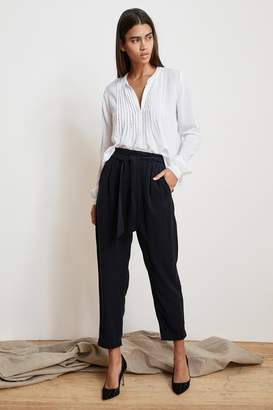 Velvet by Graham & Spencer JAMILA TENCEL BELTED PANTS