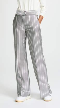Jason Wu Grey Belted Wide Leg Pants