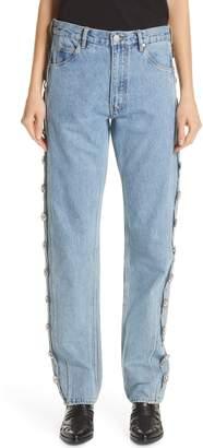 Martine Rose Side Panel Jeans