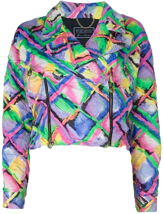 Versus Vintage printed jacket