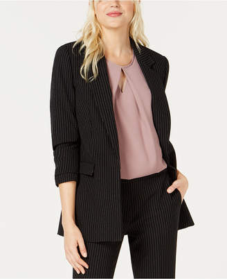 Bar III Pinstriped Blazer
