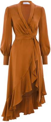 Zimmermann Wrap Dress