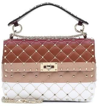 Valentino Spike.it Medium leather shoulder bag