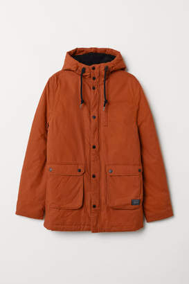 H&M Cotton Parka - Orange