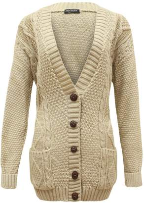 84789cb938 at Amazon Canada · Ditzy Fashion Grand Dad Cardigan Long Sleeve Knitted  Button