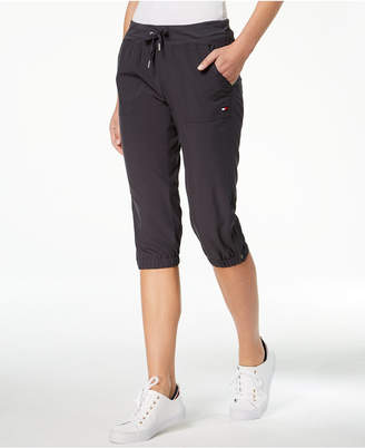 Tommy Hilfiger Zip-Detail Cargo Capri Pants, Created for Macy's