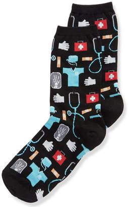 Hot Sox Women's Doctor's Socks